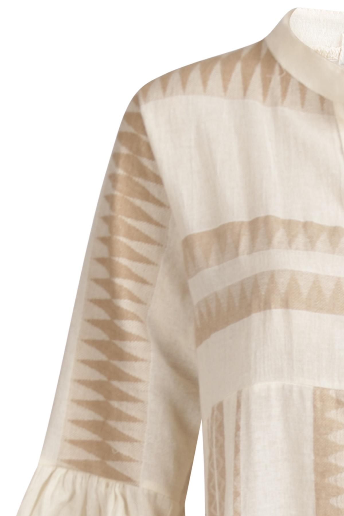 Ambika Maxi-jurken Beige 8726