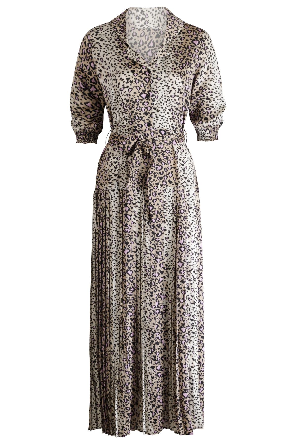 Ambika Maxi-jurken Paars Shirley