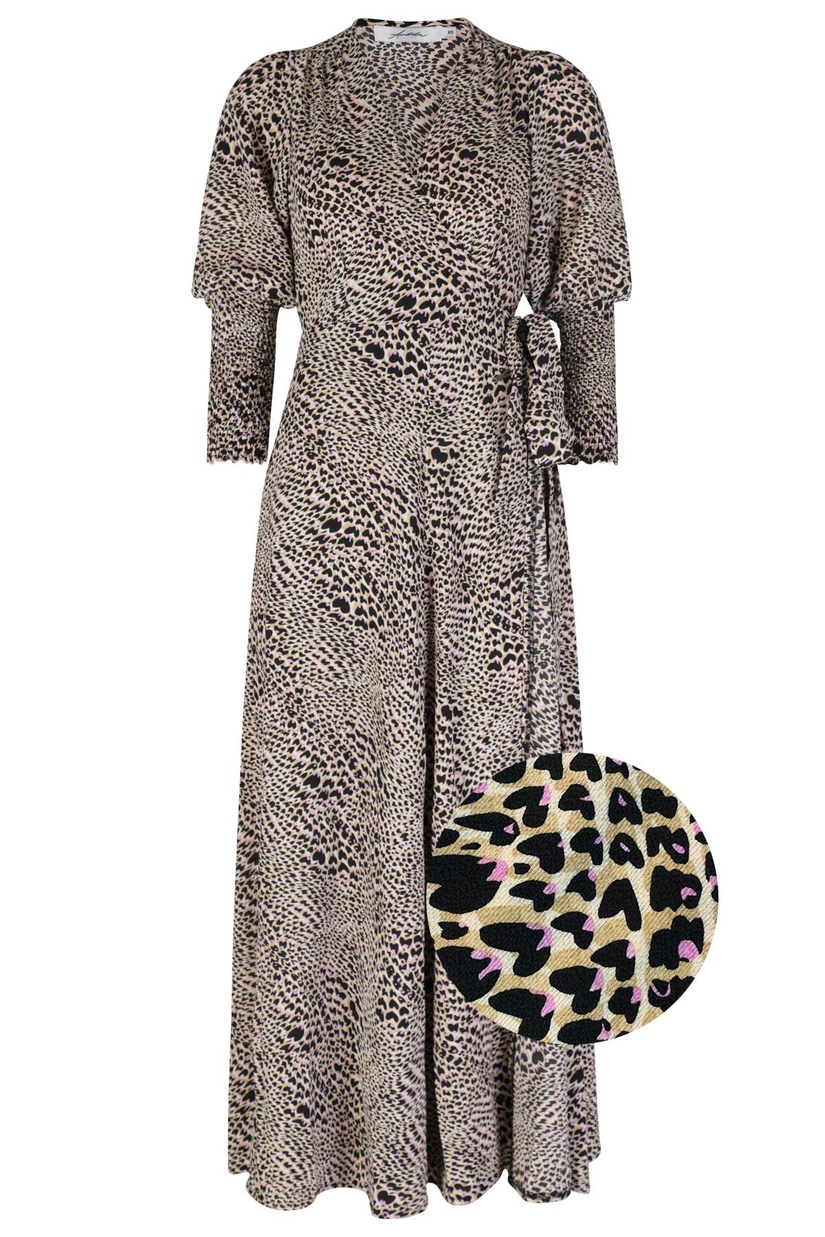 Ambika Maxi-jurken Paars Tawny-2