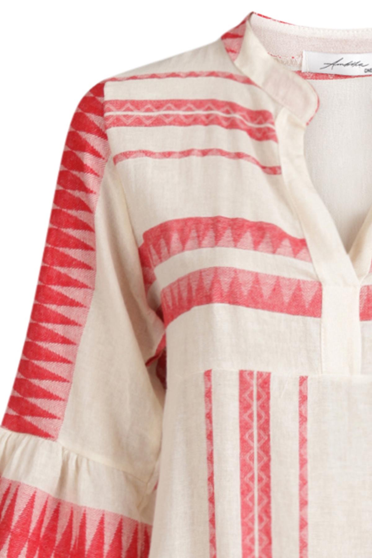 Ambika Maxi-jurken Rood 8726