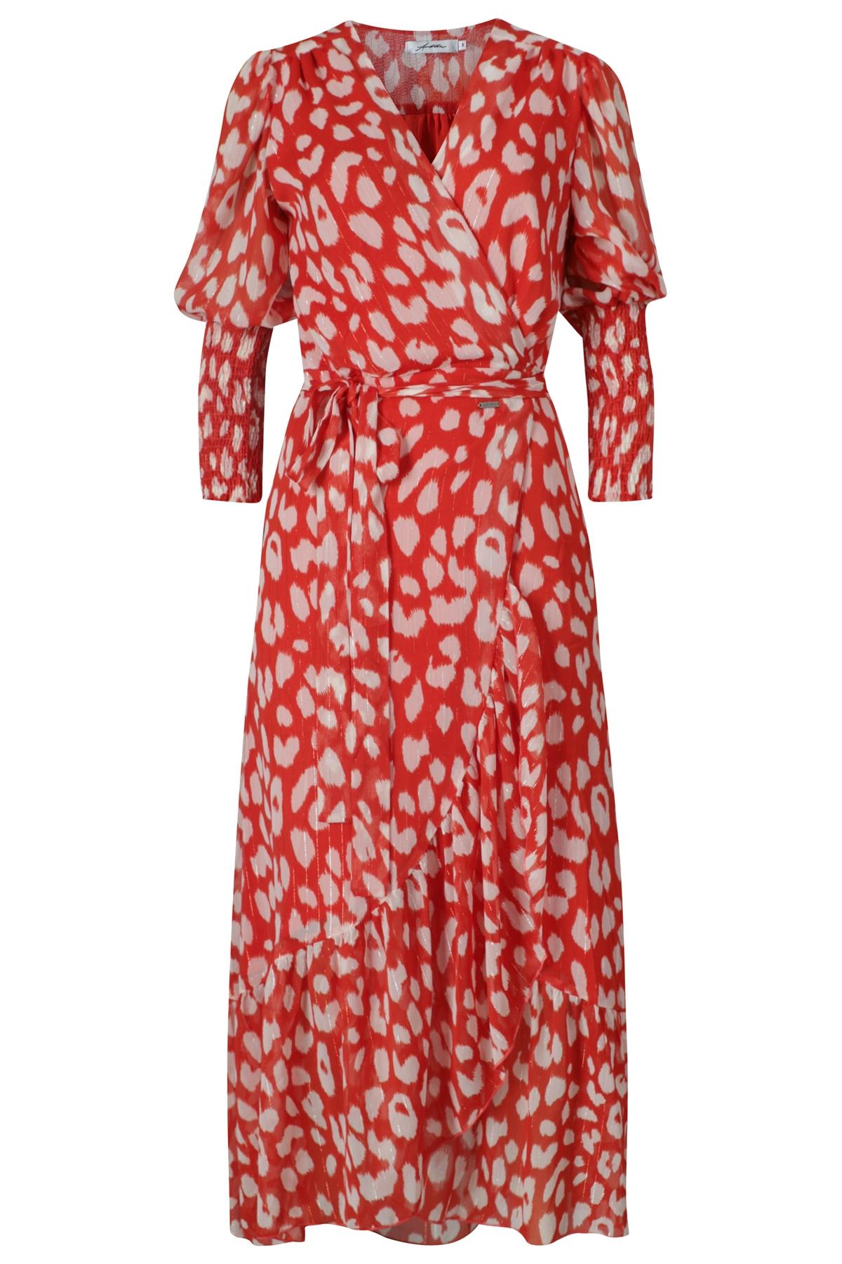Ambika Maxi-jurken Rood Thankful