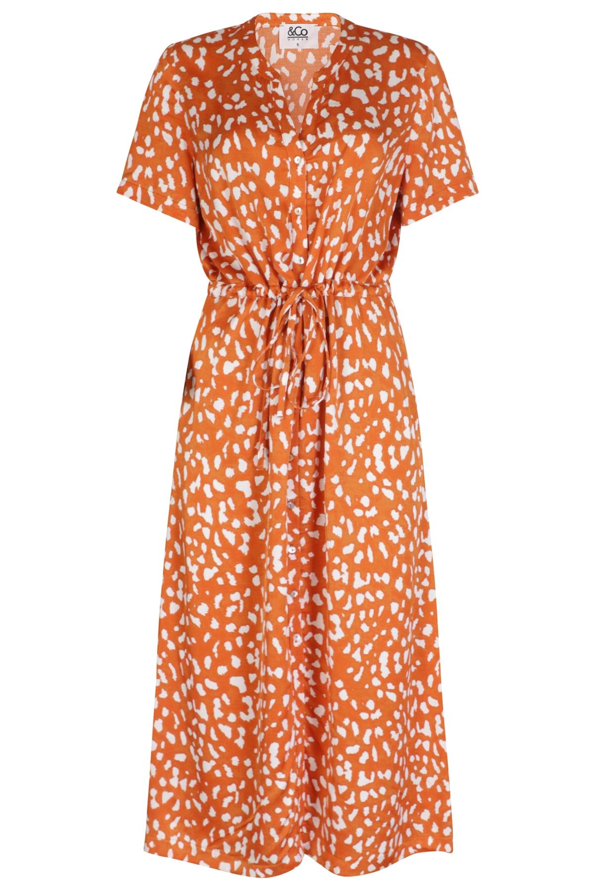 &Co Woman Maxi-jurken Oranje Brechje