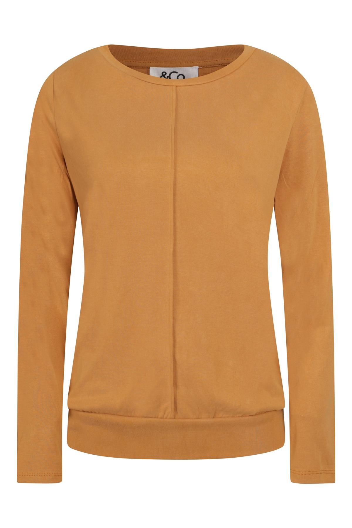 &Co Woman Shirt - Top Cognac Lola