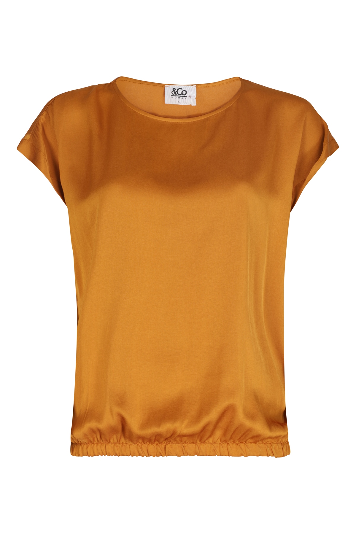 &Co Woman Shirt - Top Oranje Billy