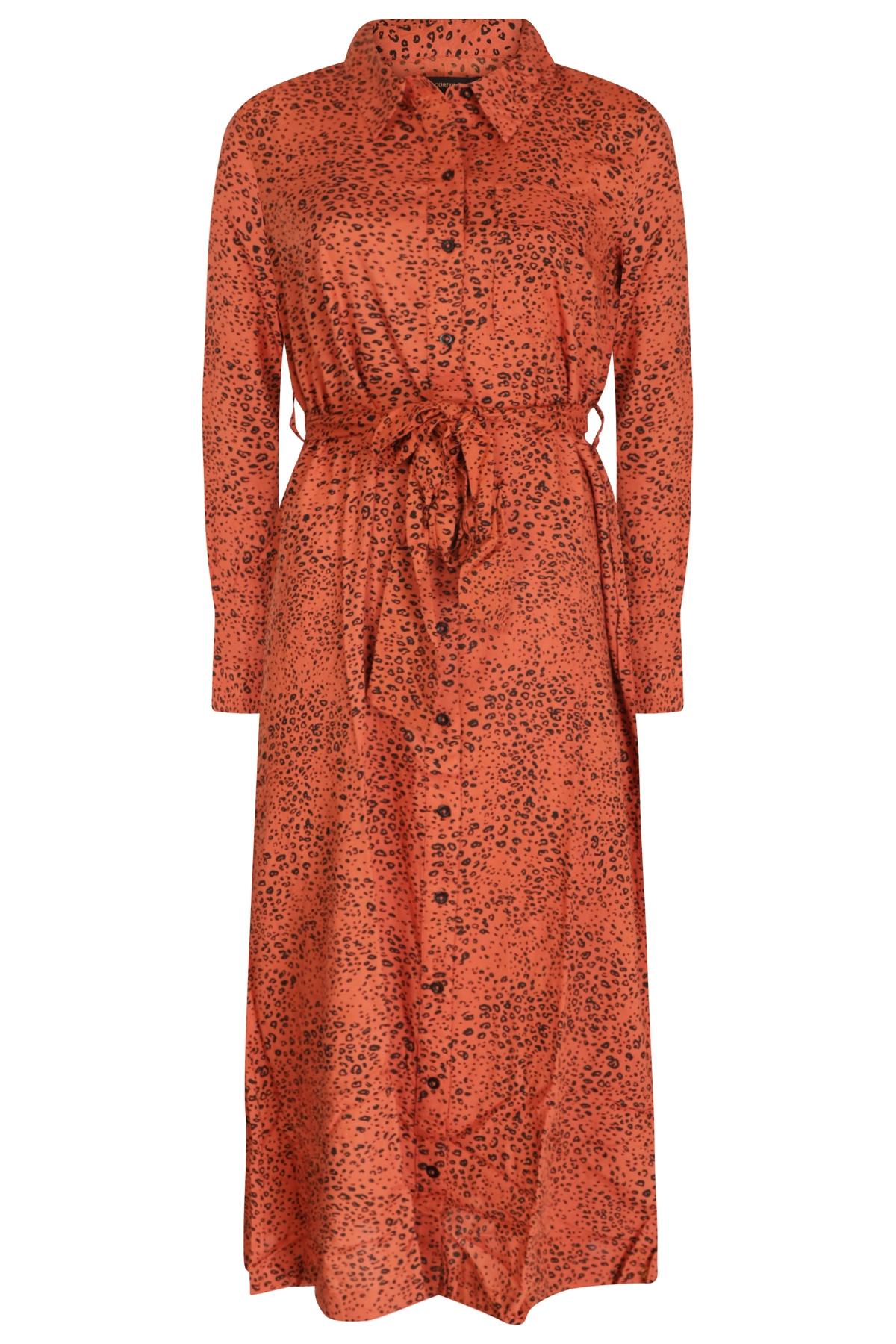 Colourful Rebel Maxi-jurken Oranje 8105