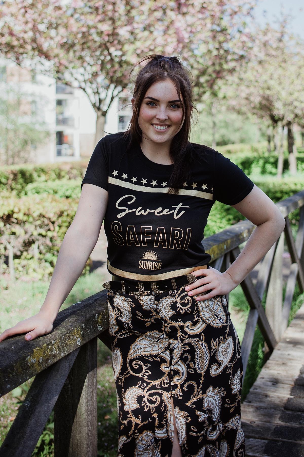 Colourful Rebel Shirt / Top Zwart 8239