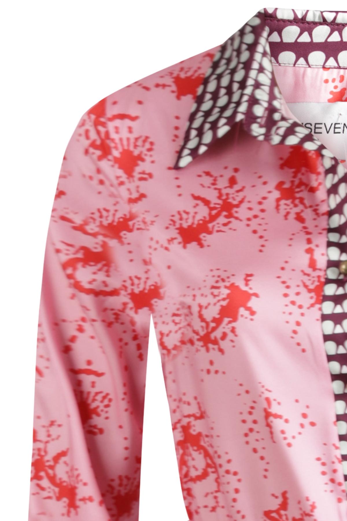 Est'seven Maxi-jurken Roze Est'Coral Pink