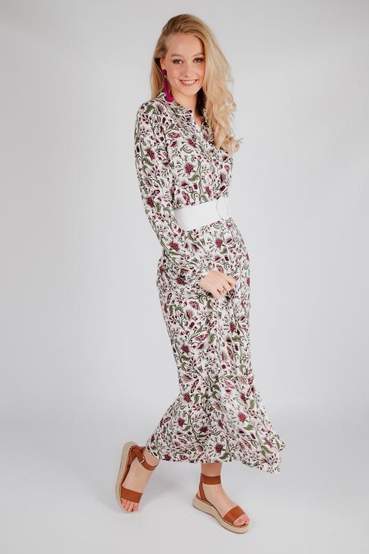 Est'seven Maxi-jurken Zwart RIO MAX DRESS