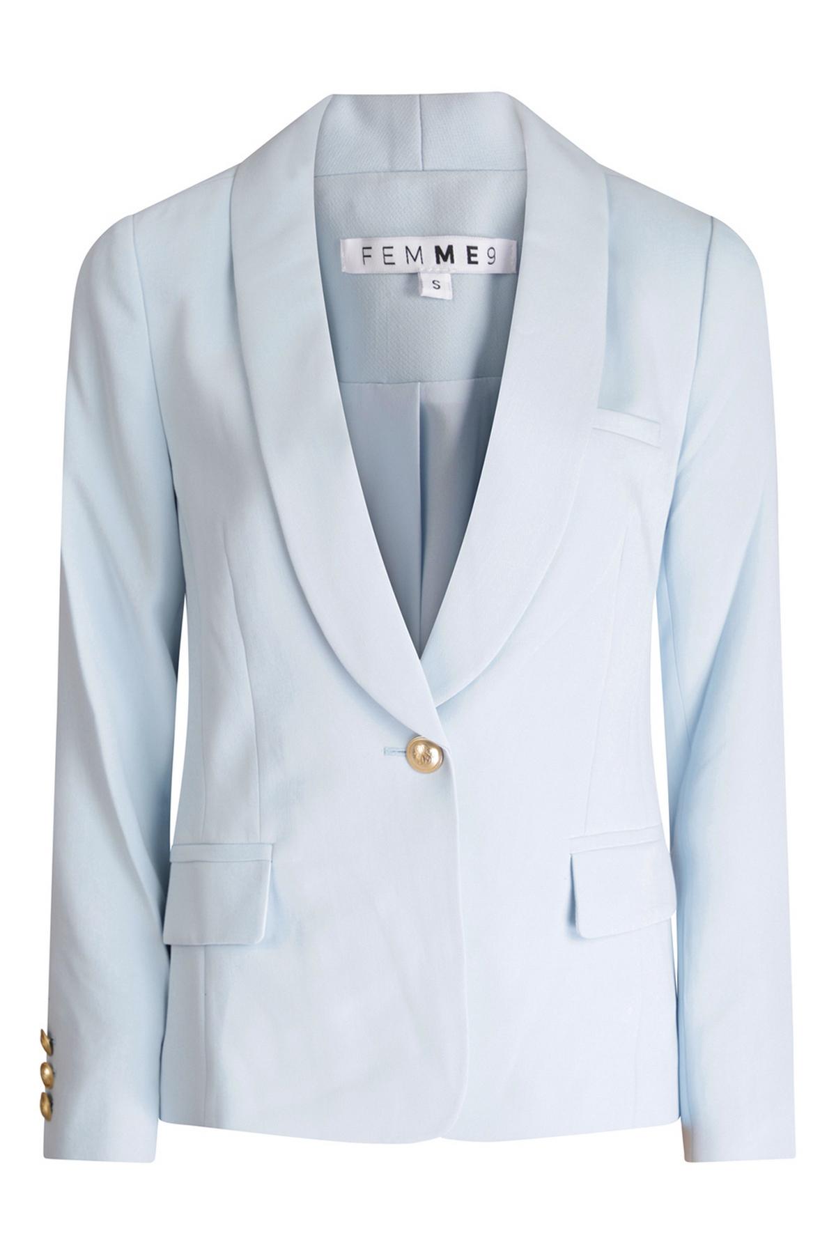 Femme9 Blazer - Jasje Blauw Amy