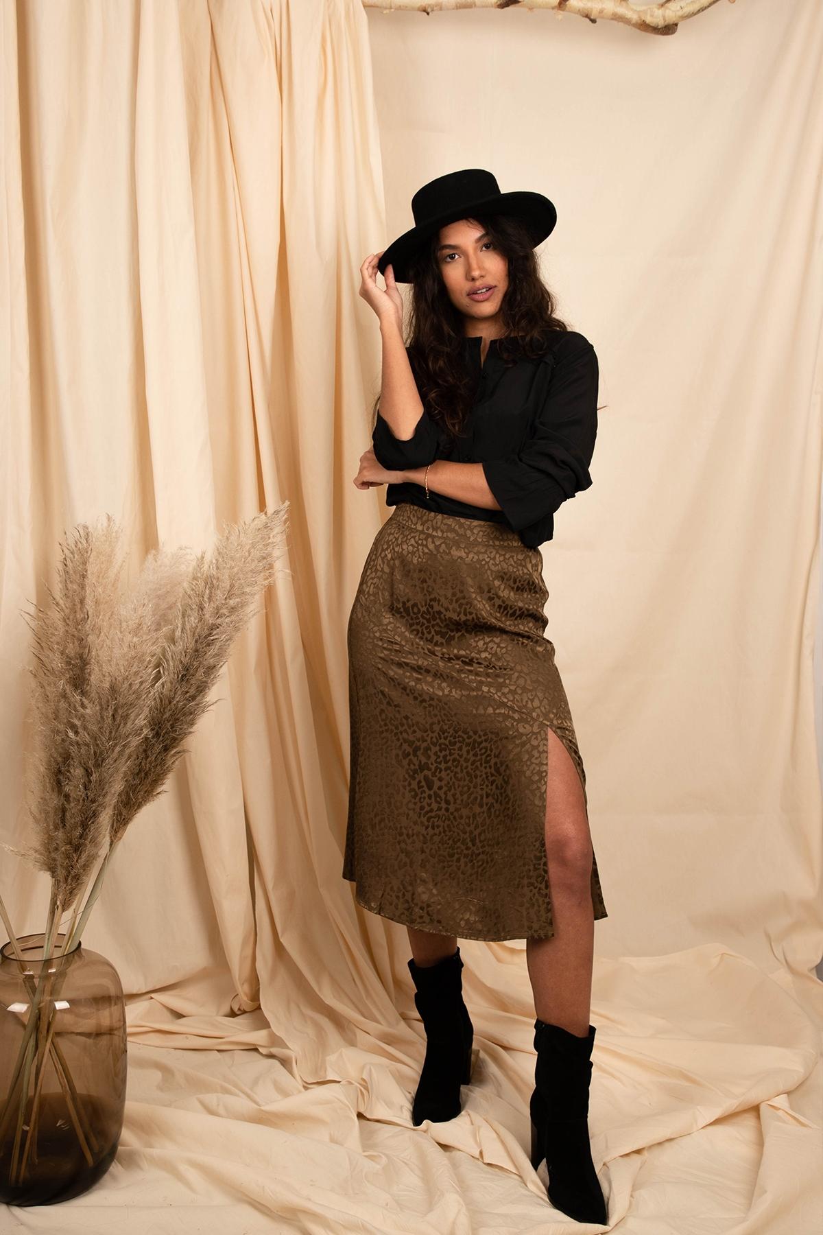 Femme9 Rok Groen Dalia