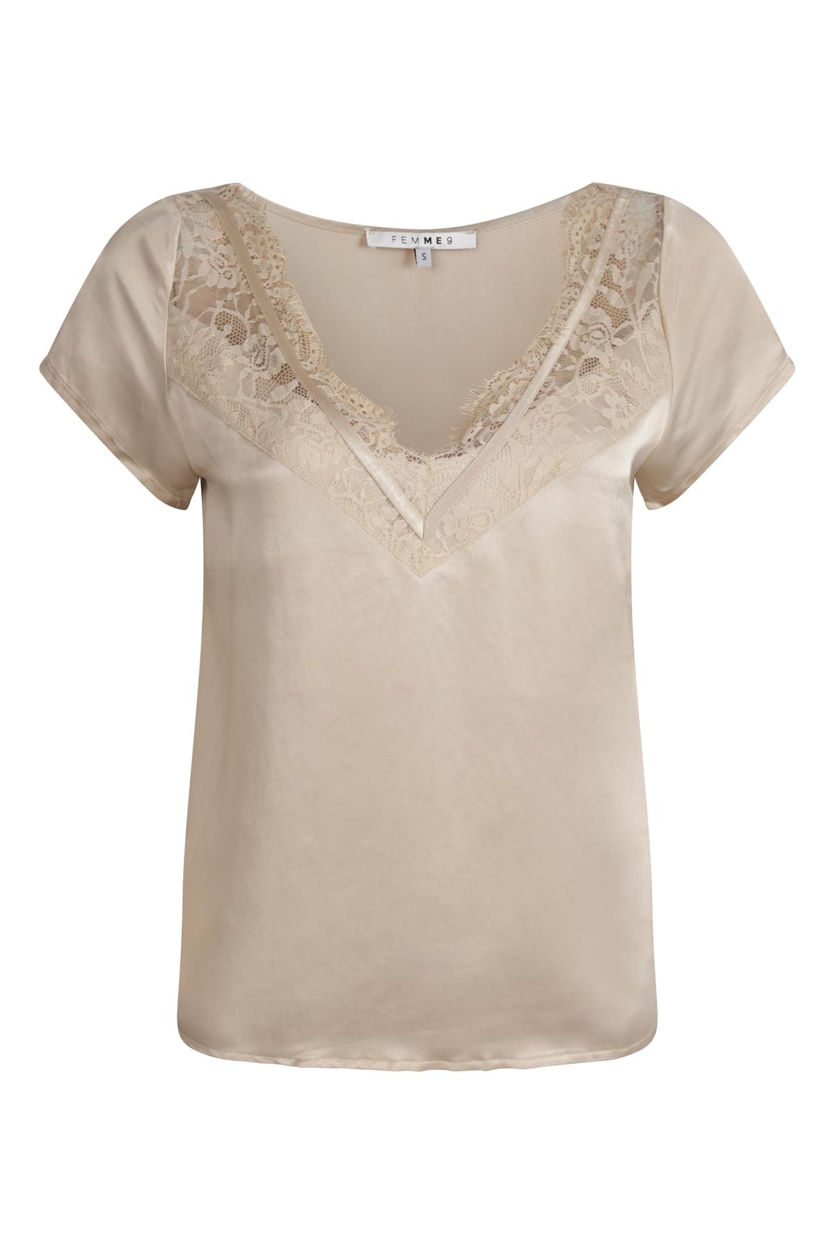 Femme9 Shirt - Top Ecru Gigi
