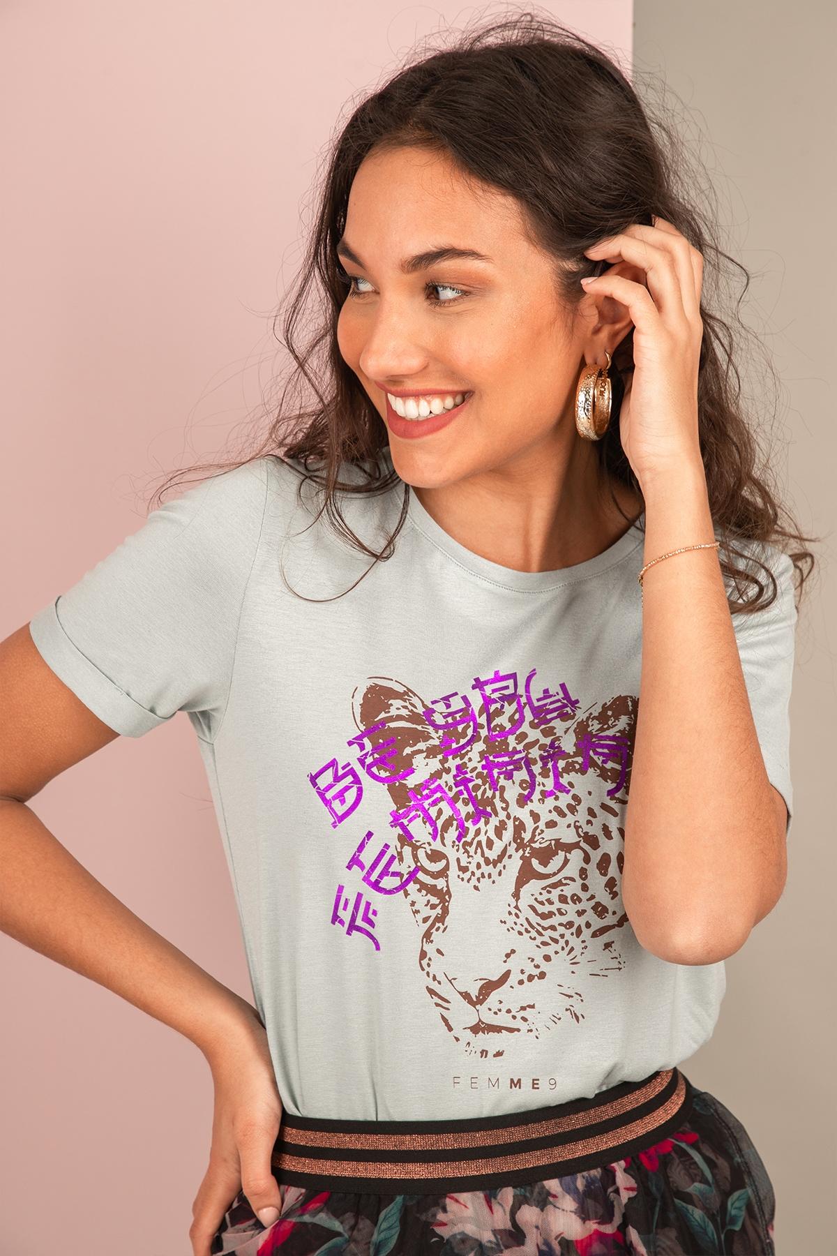 Femme9 Shirt / Top Groen Jolie