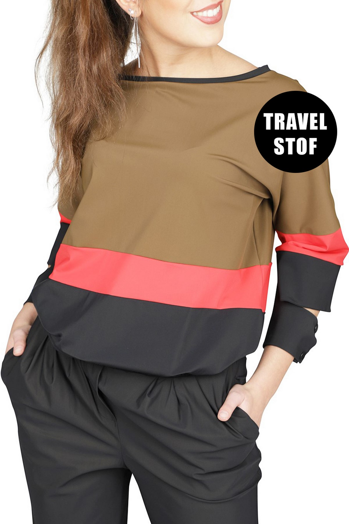 Fifth House by NIKKIE Shirt - Top Multicolor Eryn Cuff Top