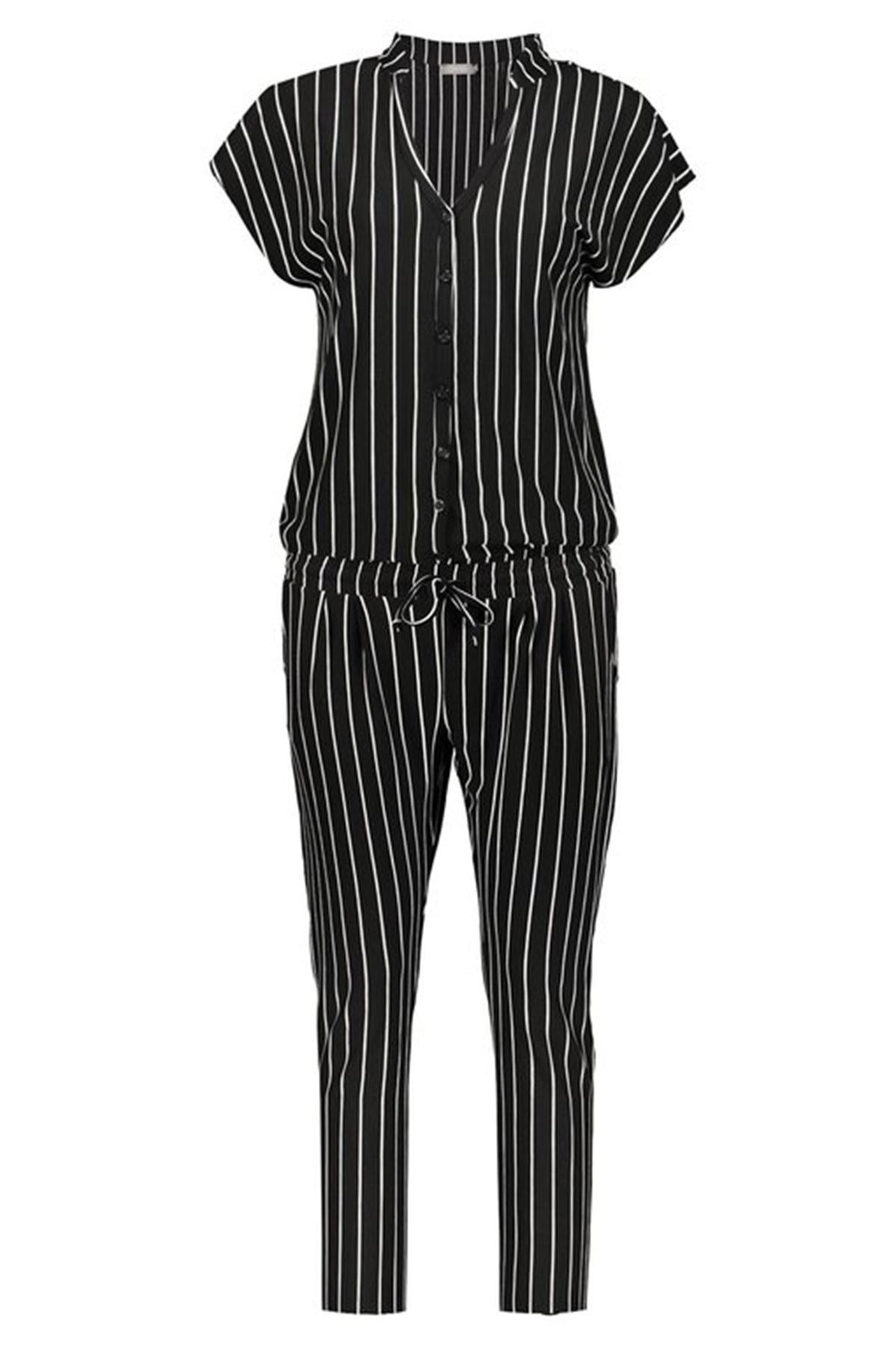 Geisha Jumpsuit Zwart 01080-60