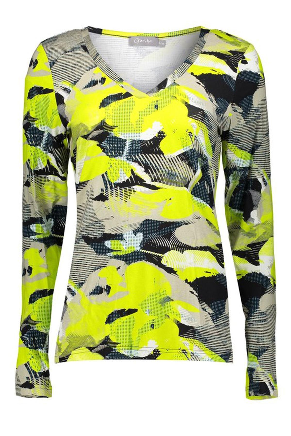 Geisha Shirt - Top Beige 03198-20