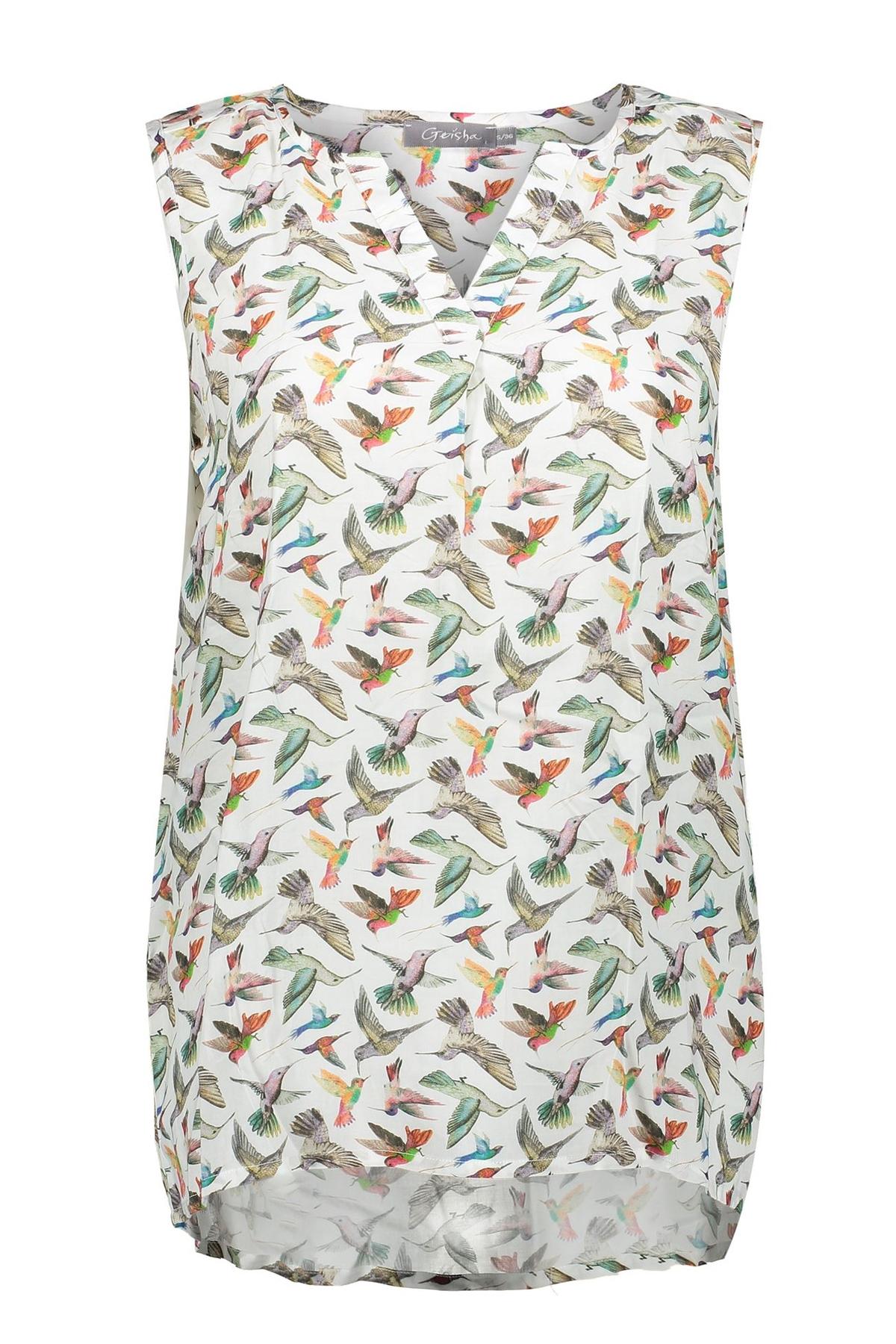 Geisha Shirt - Top Multicolor 03153-61