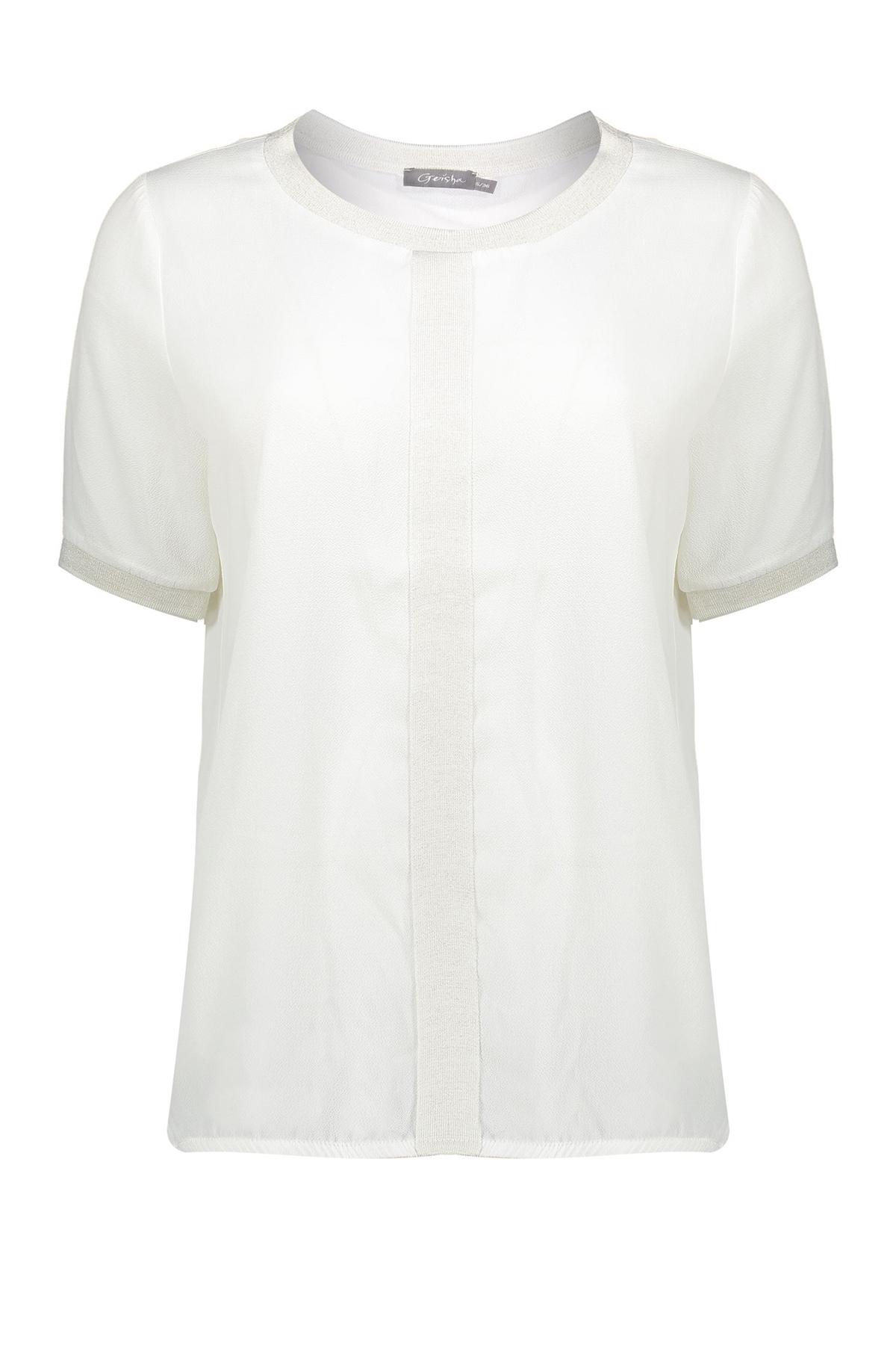 Geisha Shirt - Top Wit 03259-20