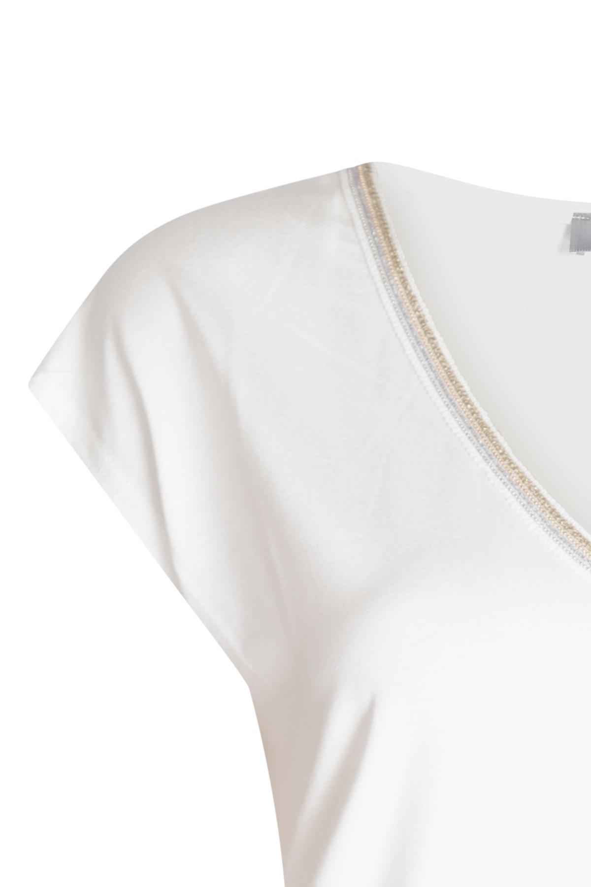 Geisha Shirt - Top Wit 03447-20