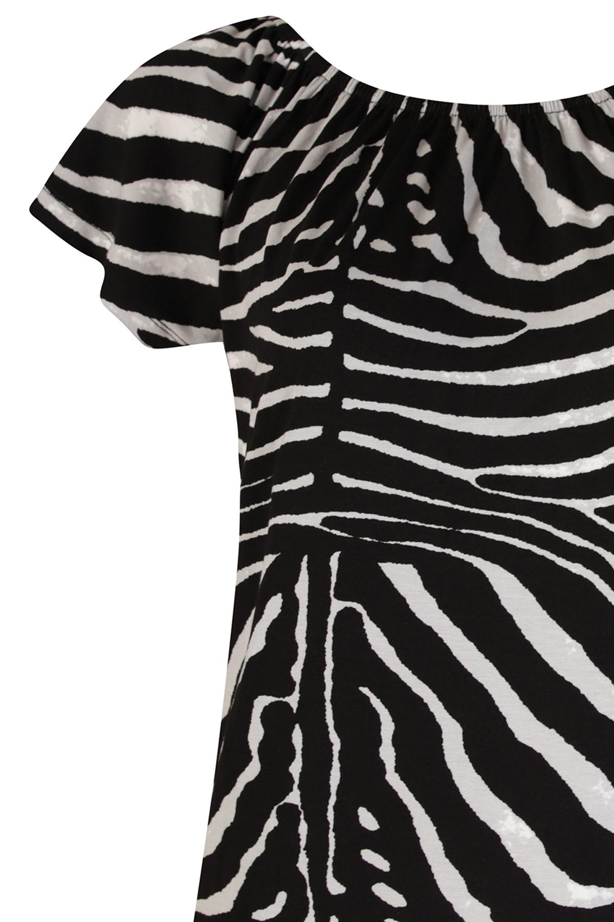 Geisha Shirt - Top Zwart 02319-60 KIM