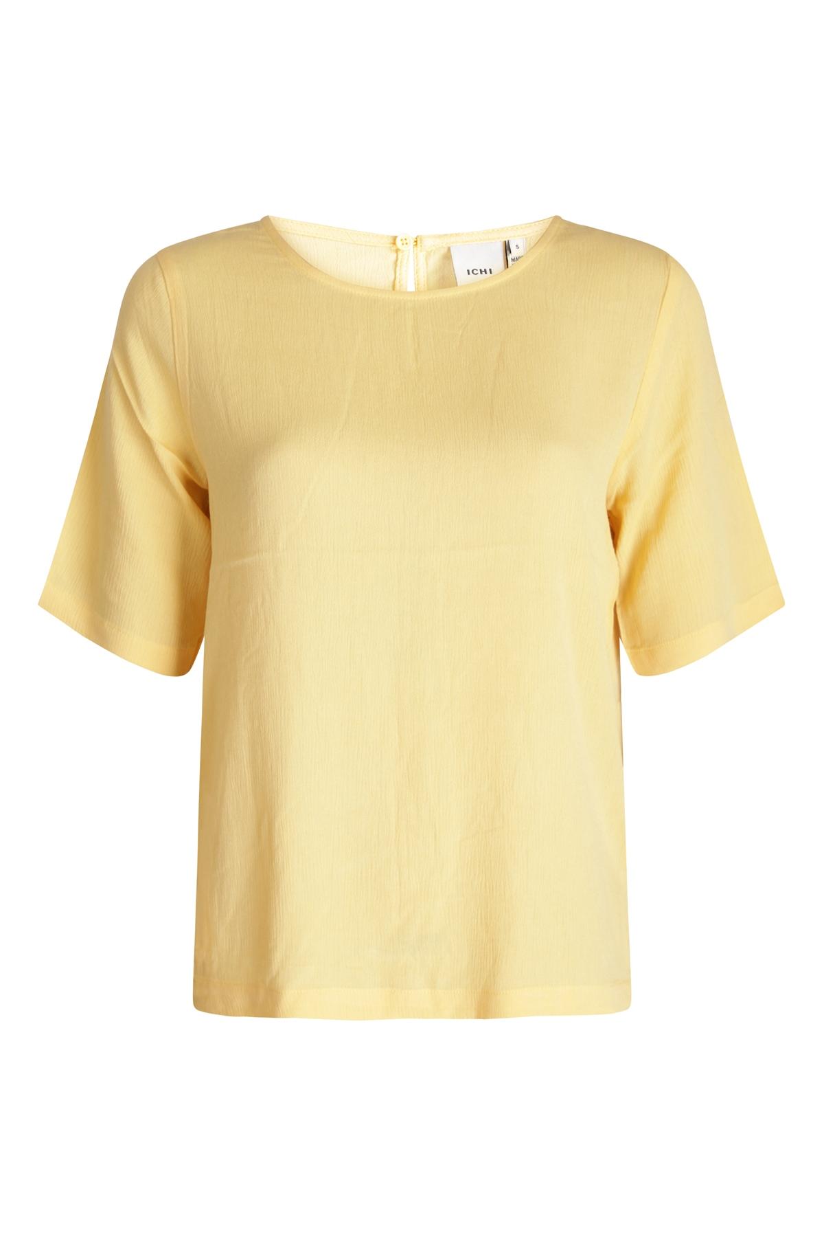 ICHI Shirt - Top Geel Ihmarrakech SO SS3