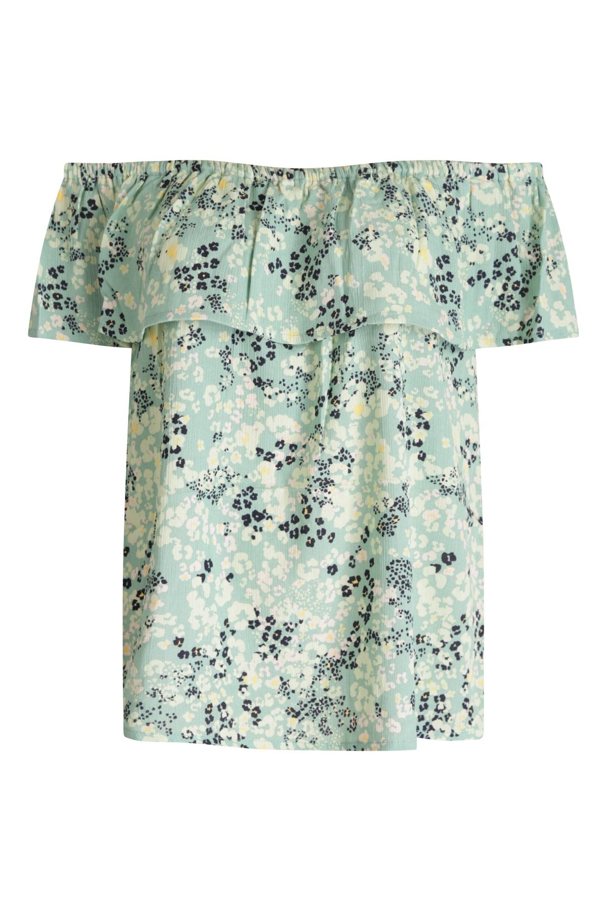 ICHI Shirt - Top Multicolor Ihmarrakech AOP SS4
