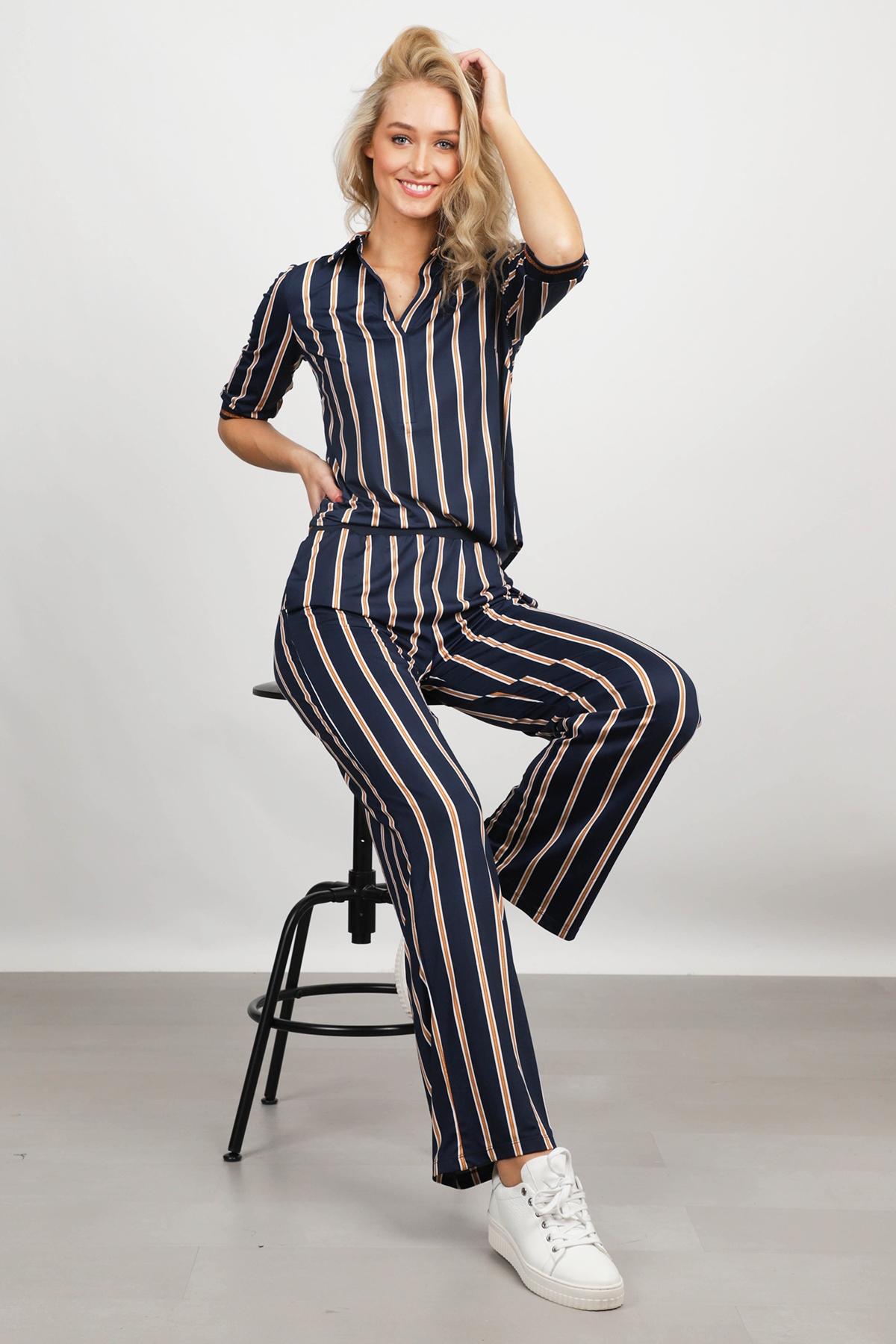 K Design Jumpsuit Blauw Q822