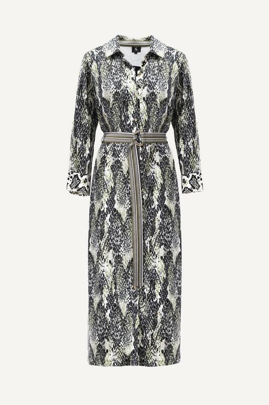 K-Design Maxi-jurken Multicolor S885