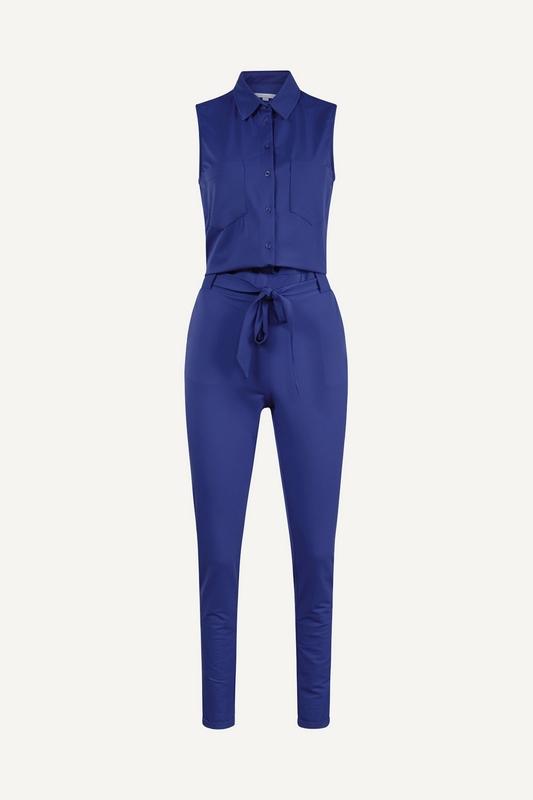 Label Of Elements Jumpsuit Blauw Cisca