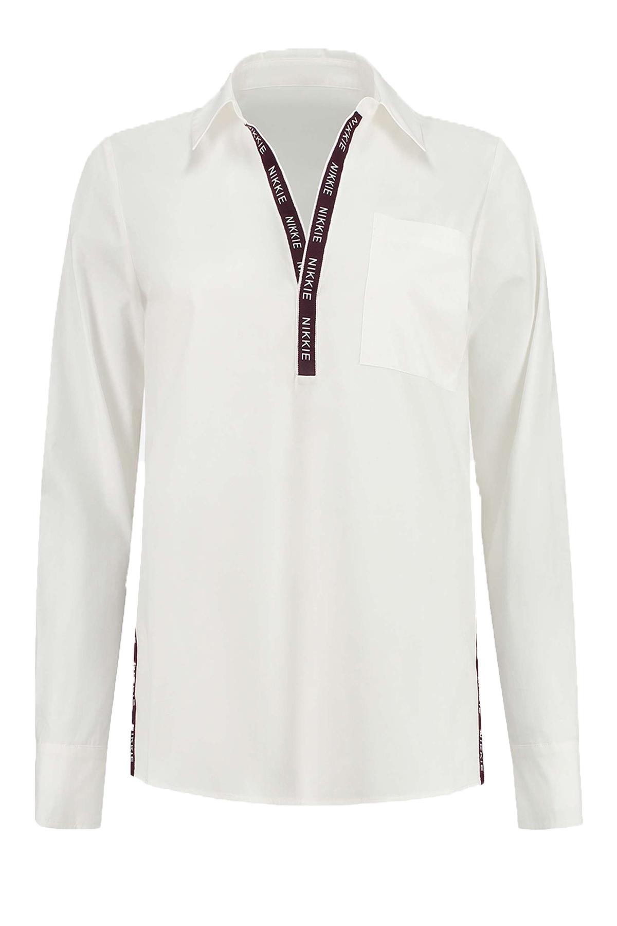 NIKKIE Shirt / Top Wit N 6-049 2002