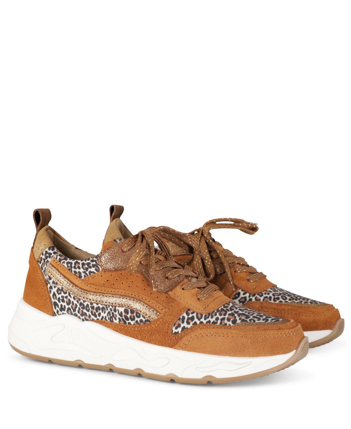 Poelman Sneaker Cognac P6469POE