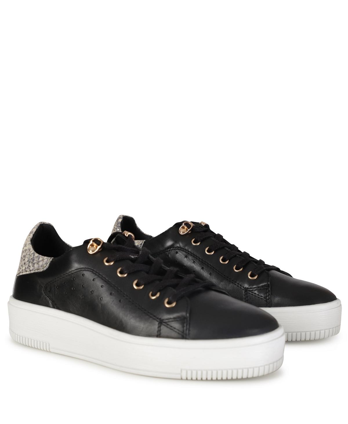 Poelman Sneaker Zwart LPESQUIMO-11POE