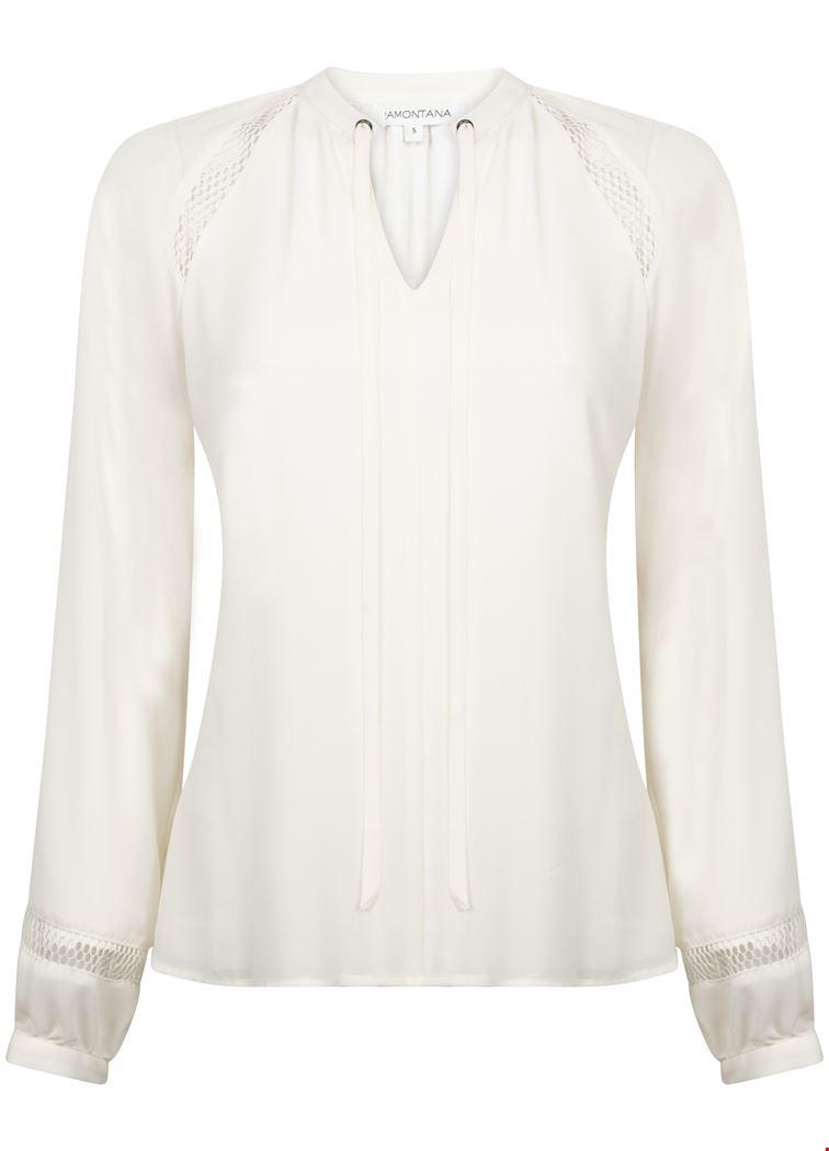 Tramontana Shirt / Top Ecru C25-94-303