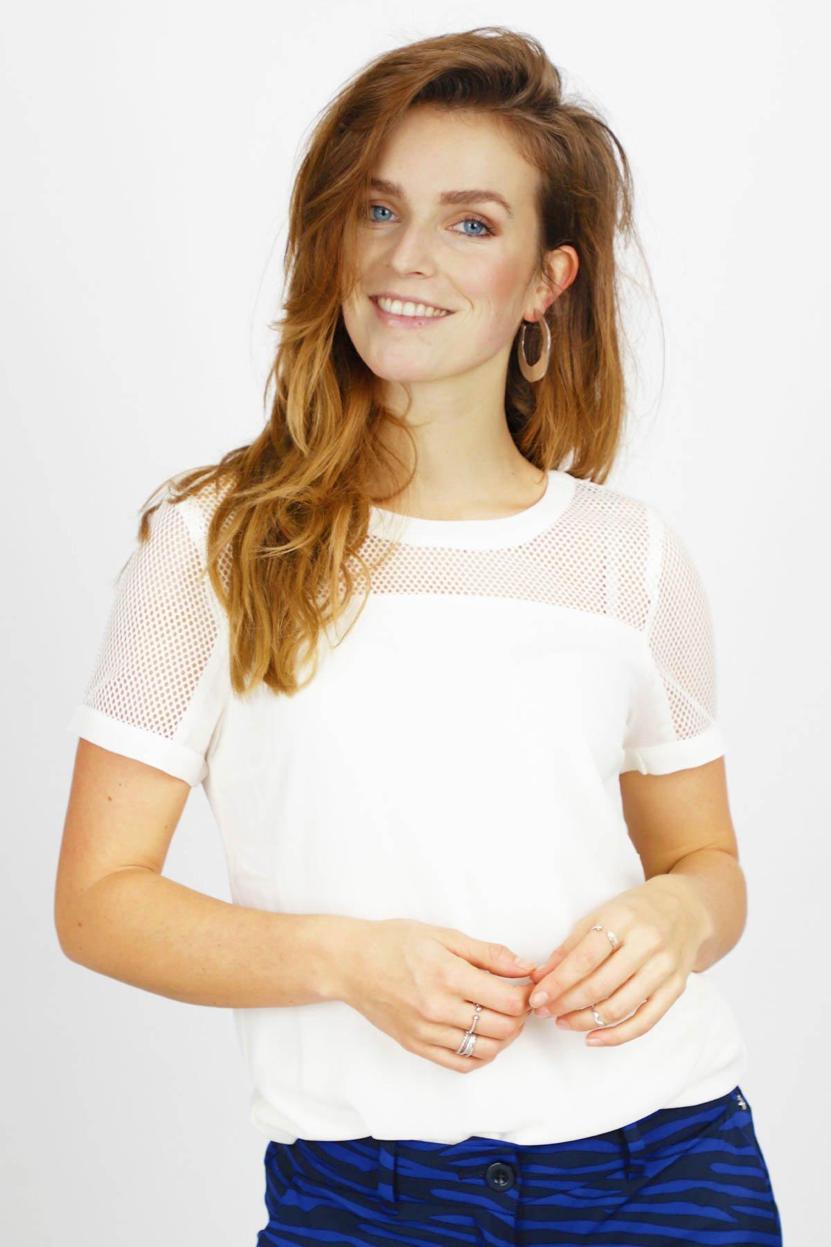 Tramontana Shirt / Top Ecru C25-94-313
