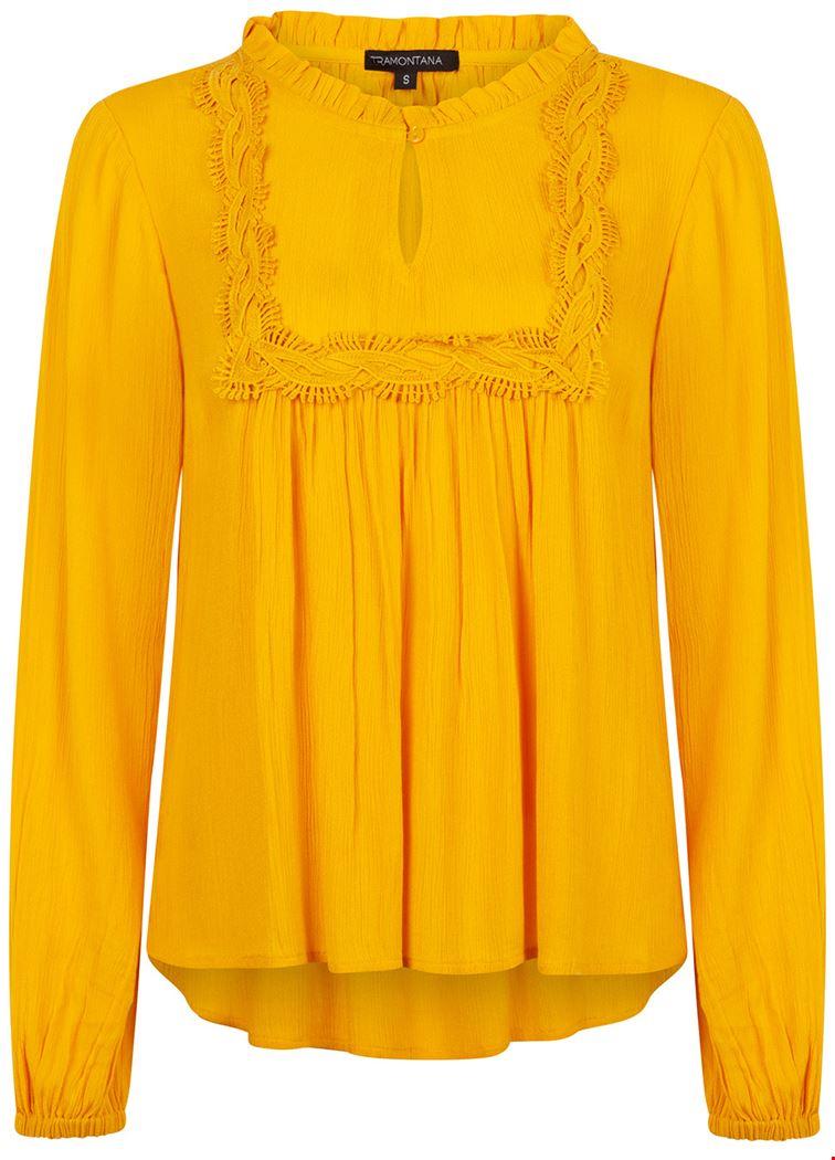 Tramontana Shirt - Top Geel I02-92-301