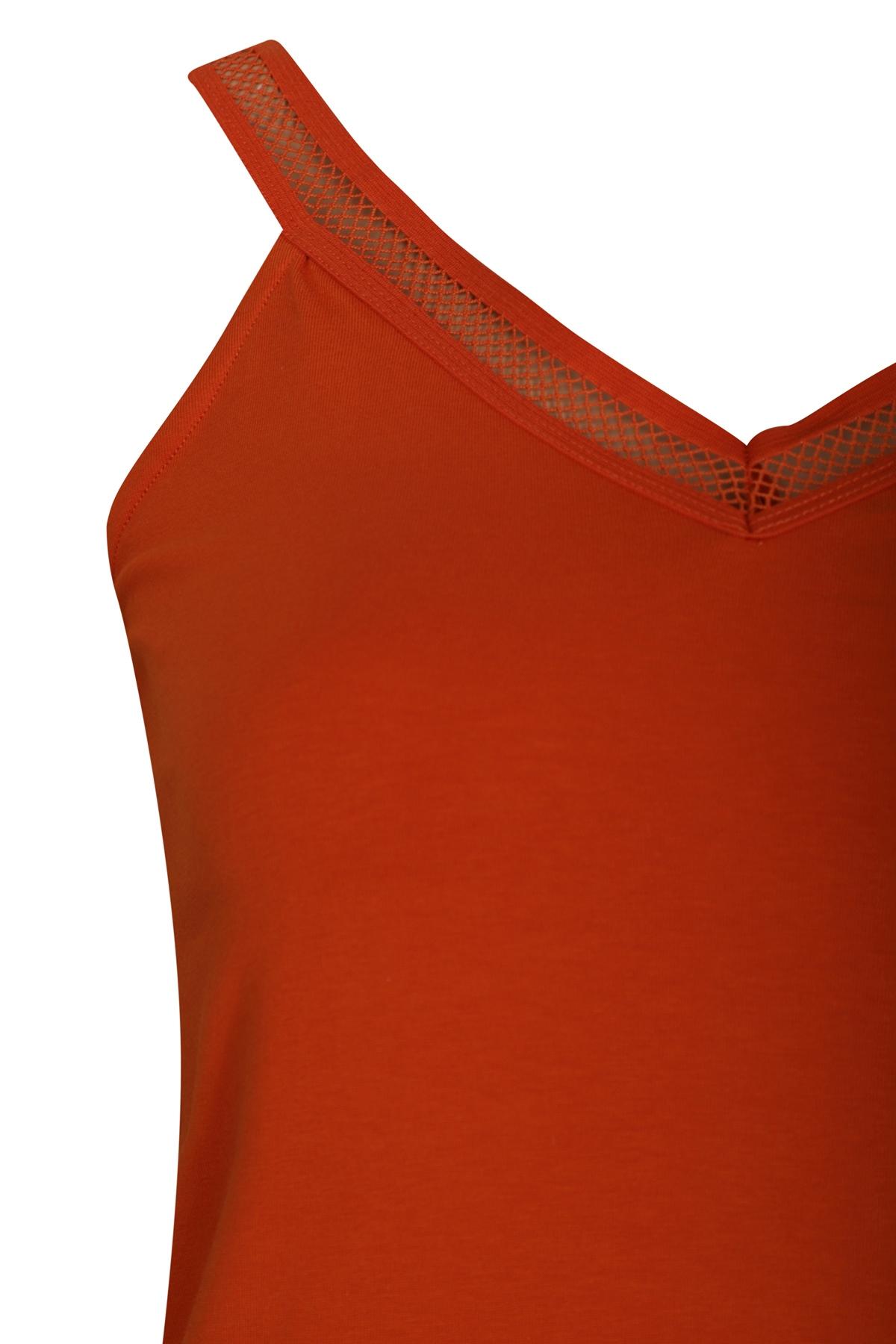 Tramontana Shirt - Top Oranje D22-94-403