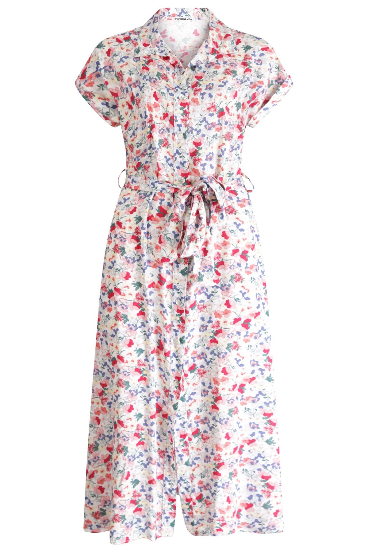 Typical Jill Maxi-jurken Multicolor Chantal