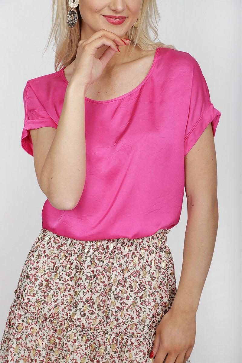 Typical Jill Shirt - Top Fuchsia Maartje