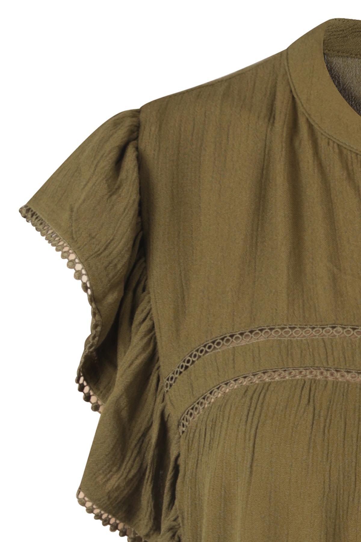 Vila Shirt - Top Groen 14057722