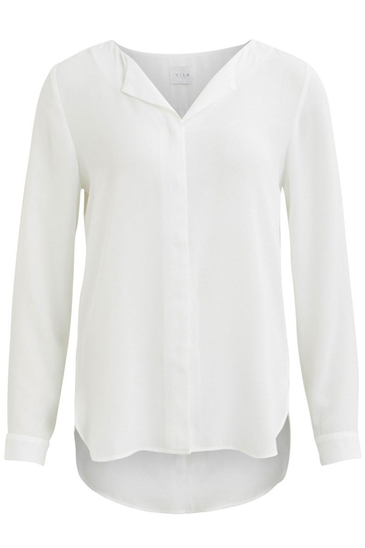 Vila Shirt - Top Wit 14044253