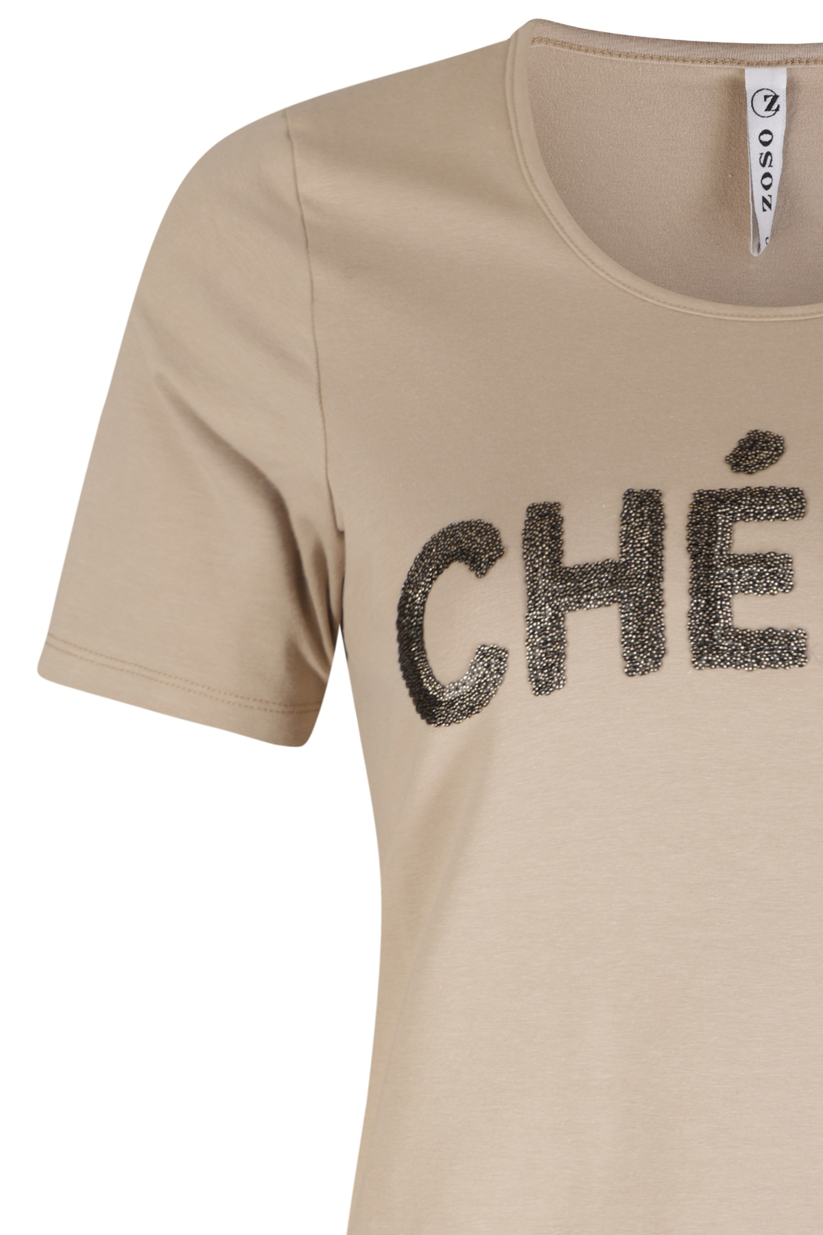 Zoso Shirt - Top Beige Cherie