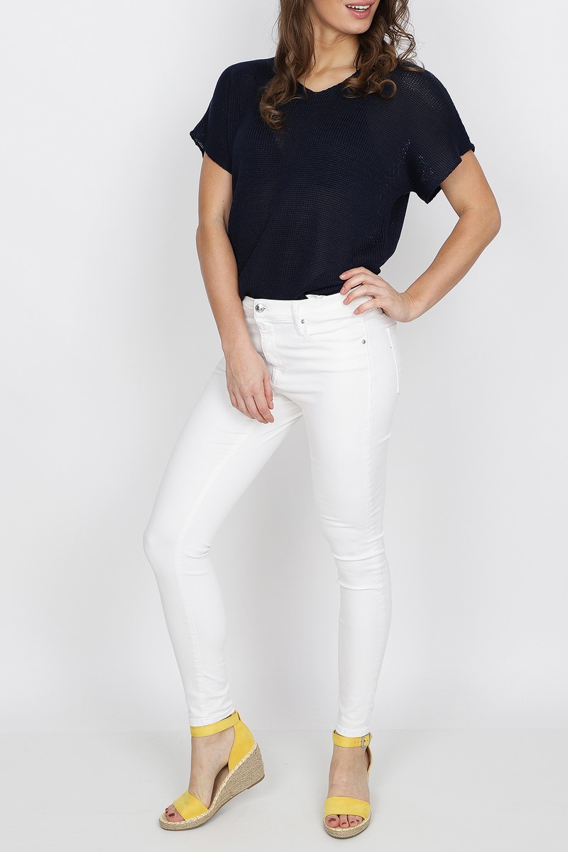 Zoso Shirt - Top Blauw Koko