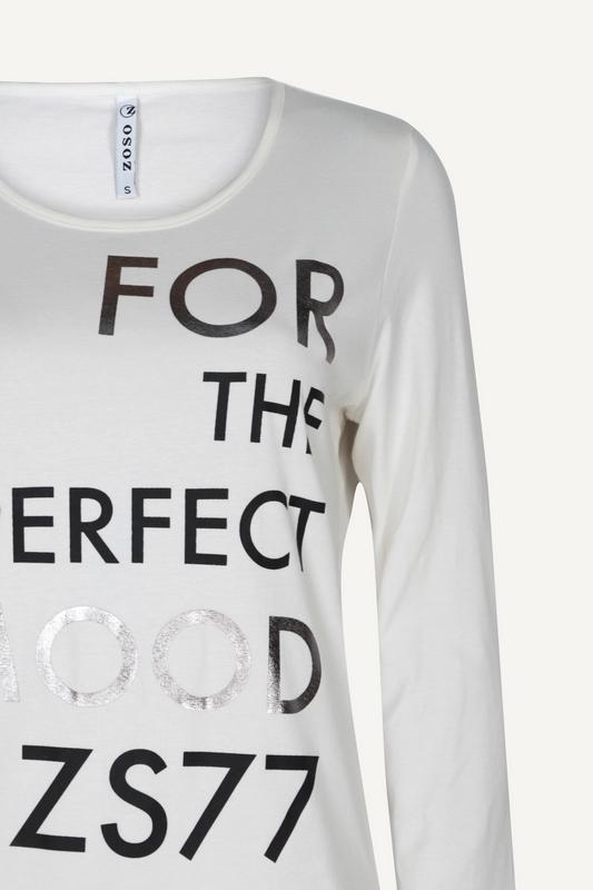 Zoso Shirt - Top Offwhite Mood