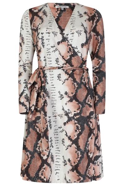 Elian Wrap Dress wit
