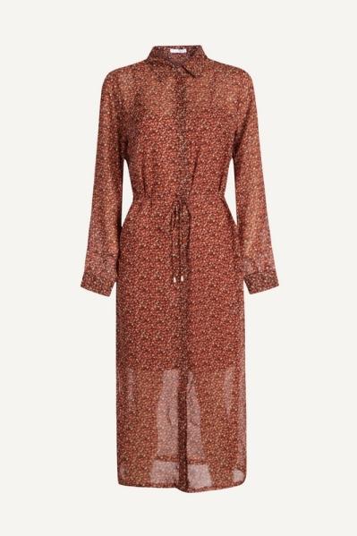 Midi dress long sleeve d.bruin