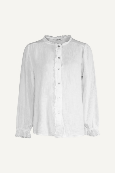 Blouse kant off white off white