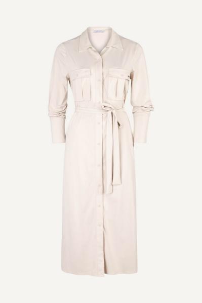 Ambika Maxi-jurk Beige London