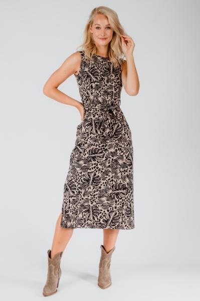 Ambika Maxi-jurk Beige Lorelle