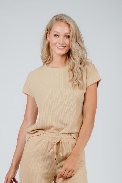 Saint Tropez Shirt / Top Beige 30510436