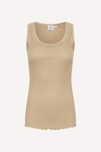 Saint Tropez Shirt / Top Beige 30510185