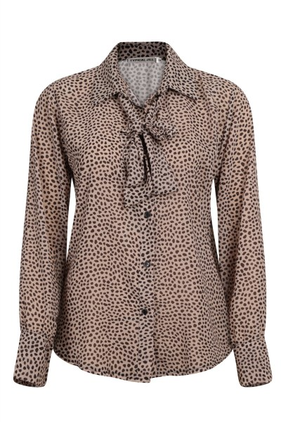 Typical Jill Blouse Beige Shelly